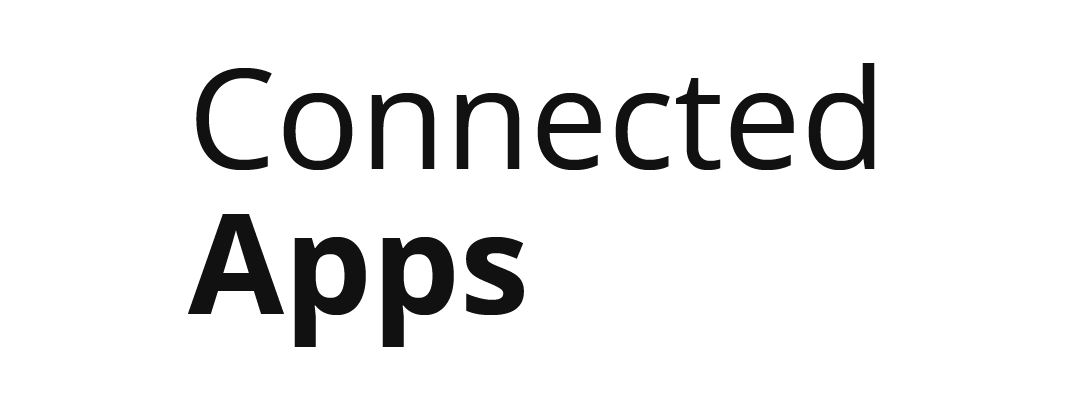 Zahir Connected Apps Black