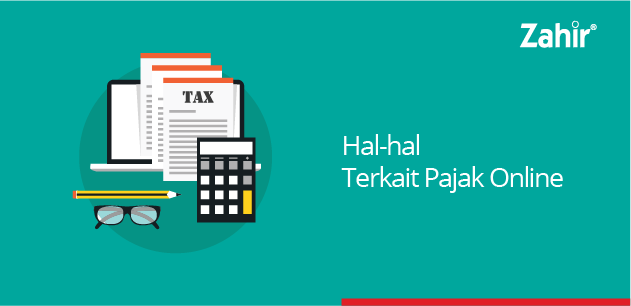 hal hal terkait pajak online