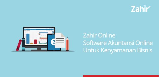 zahir online software akuntansi online untuk kenyamanan